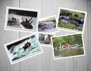 River tubing down the Karringmelkspruit